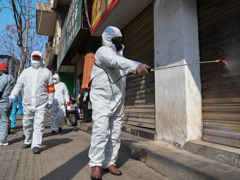 大陸新冠肺炎疫情仍嚴峻。新華社
