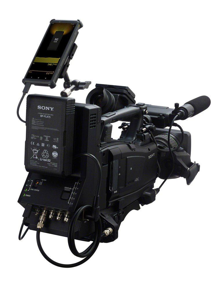 Xperia PRO支援mini HDMI及Type C雙傳輸功能,可供專業拍攝...