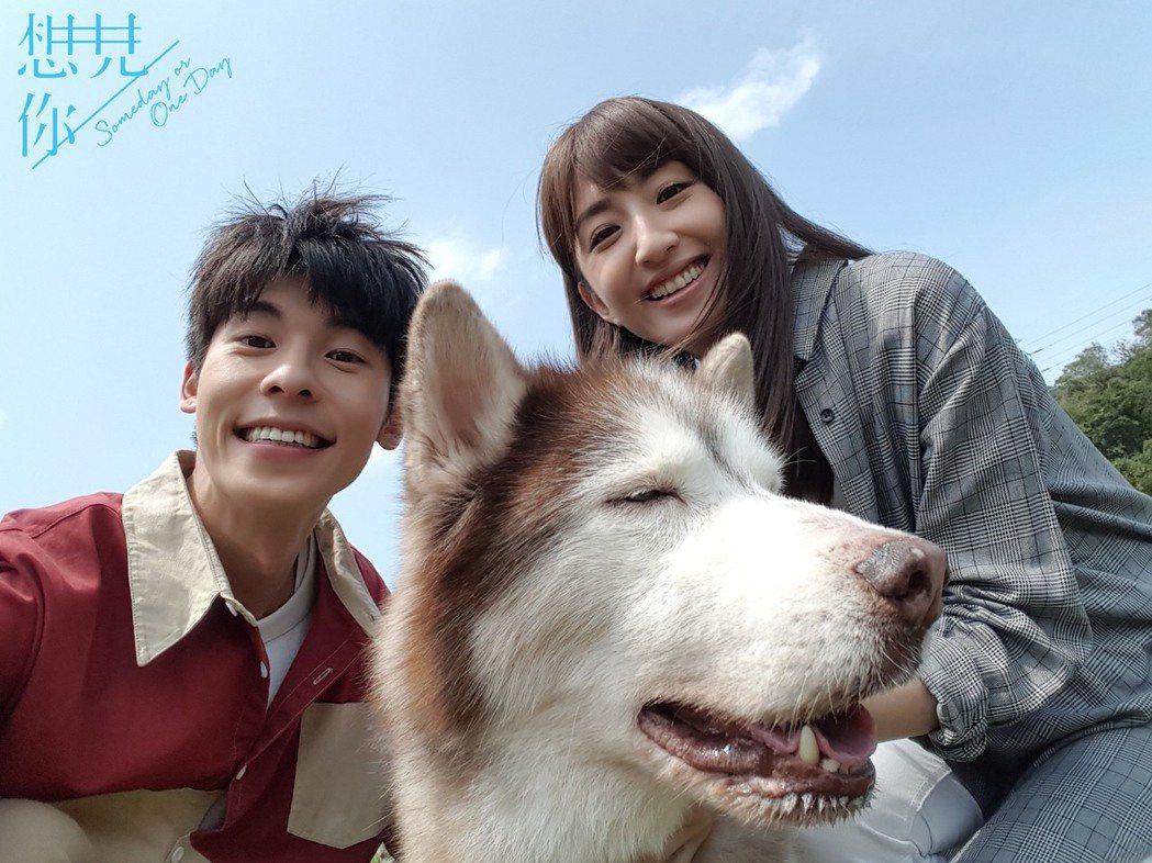 柯佳嬿(右)與許光漢主演的「想見你」播畢後仍受討論。圖/摘自臉書