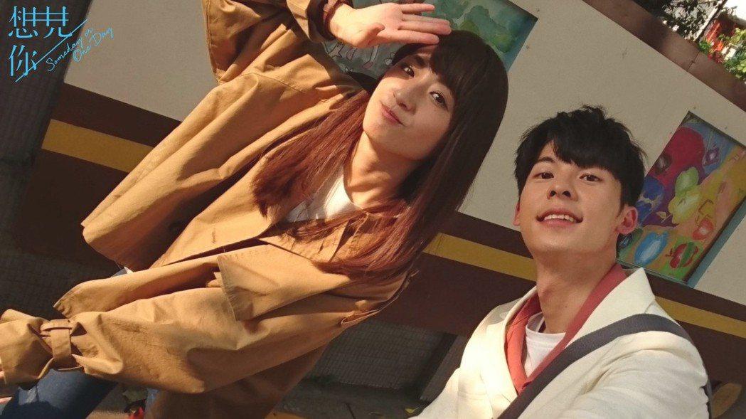 柯佳嬿(左)與許光漢主演的「想見你」播畢後仍受討論。圖/摘自臉書