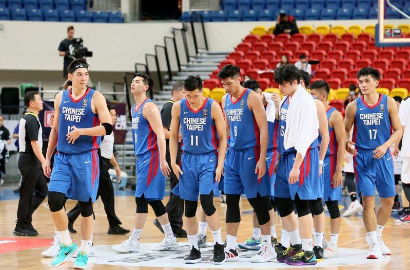 亞洲盃男籃資格賽將於11月27日重啟。 聯合報系資料照