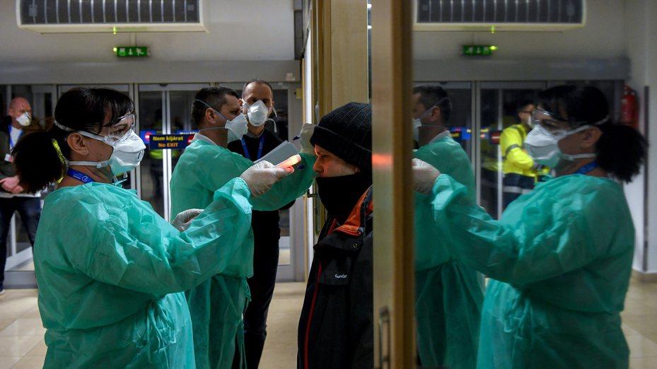 義大利新冠肺炎疫情持續升溫。圖/歐新社