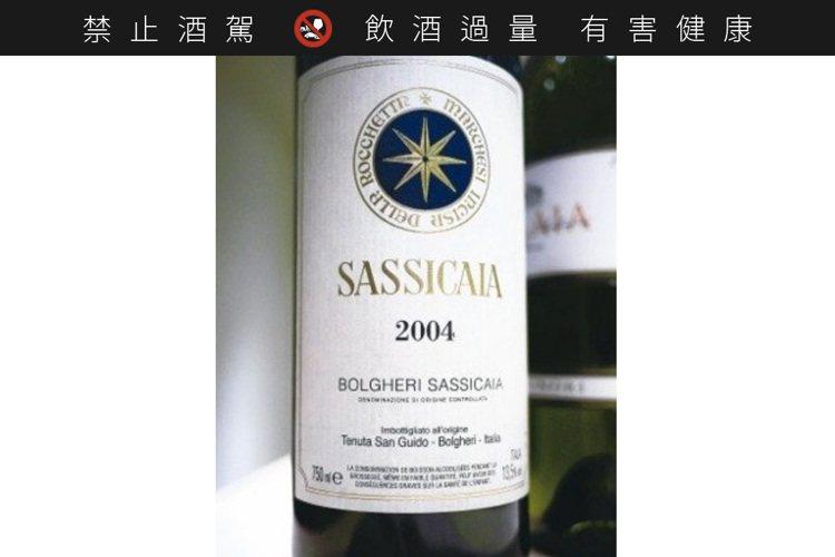 義大利Super Tuscan代表酒款之一,Sassicaia。圖/聶汎勳 ※...