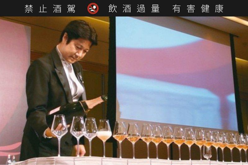 2015亞洲大洋洲冠軍石田博。 圖/何信緯 ※ 提醒您:禁止酒駕,飲酒過量有礙健康,飲酒過量,害人害己。