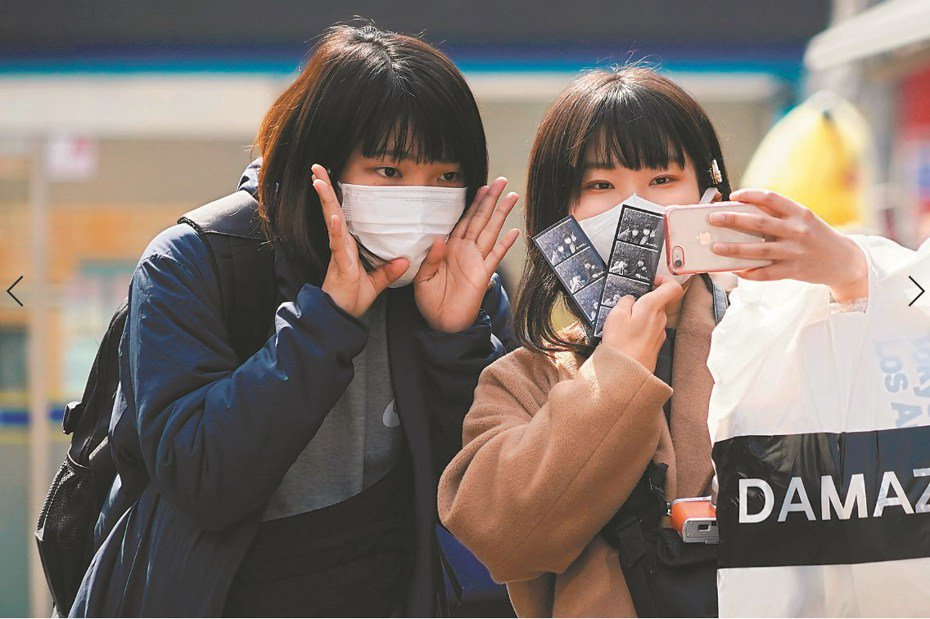 新冠肺炎疫情蔓延至南韓,台灣已將韓國列為旅遊疫情第三級「警吿」。路透