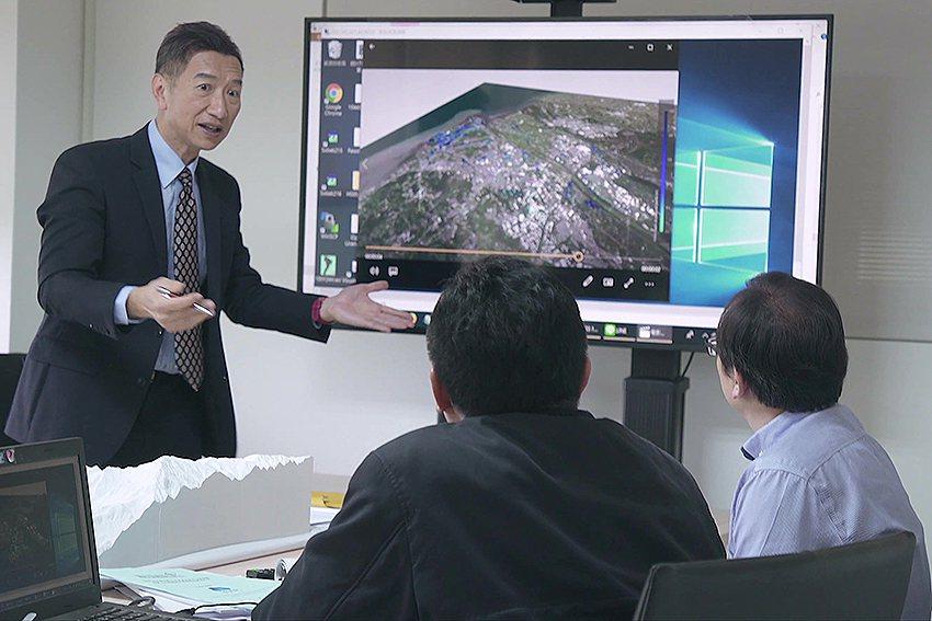 臺灣AI雲+IoT,發展「智慧防汛」系統。 國研院/提供