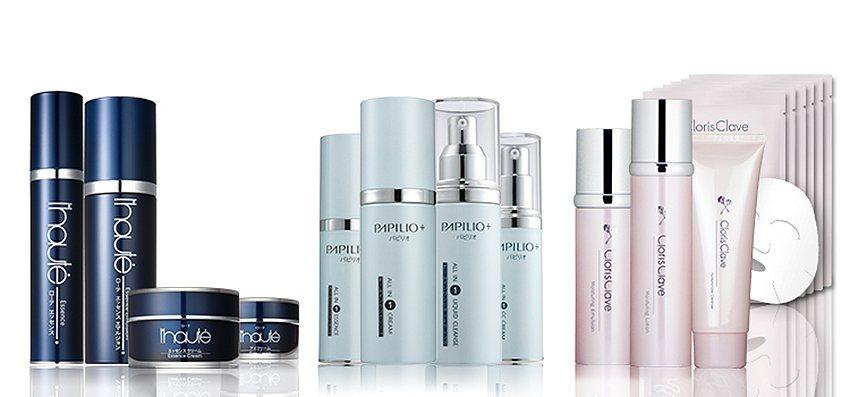 PAPILIO巴比利歐產品系列刮起百年時尚美妝風。 PAPILIO公司/提供