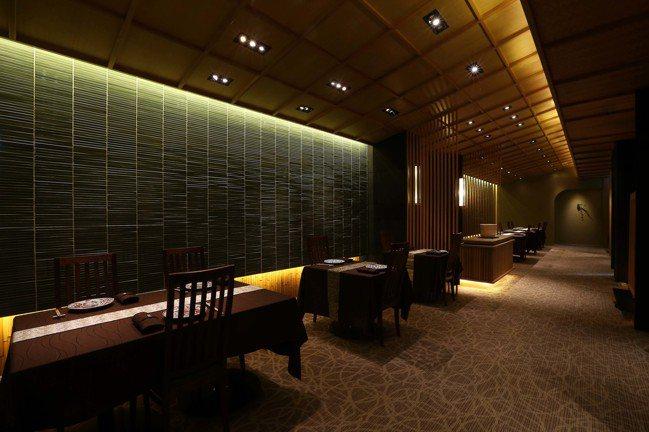 榮獲米其林二星的台灣人氣餐廳祥雲龍吟。 圖/ONESTORY提供