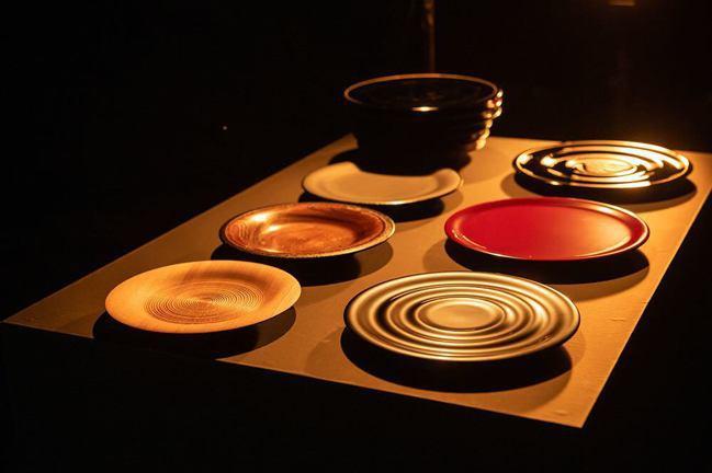 輪島塗漆器餐具。 圖/ONESTORY提供