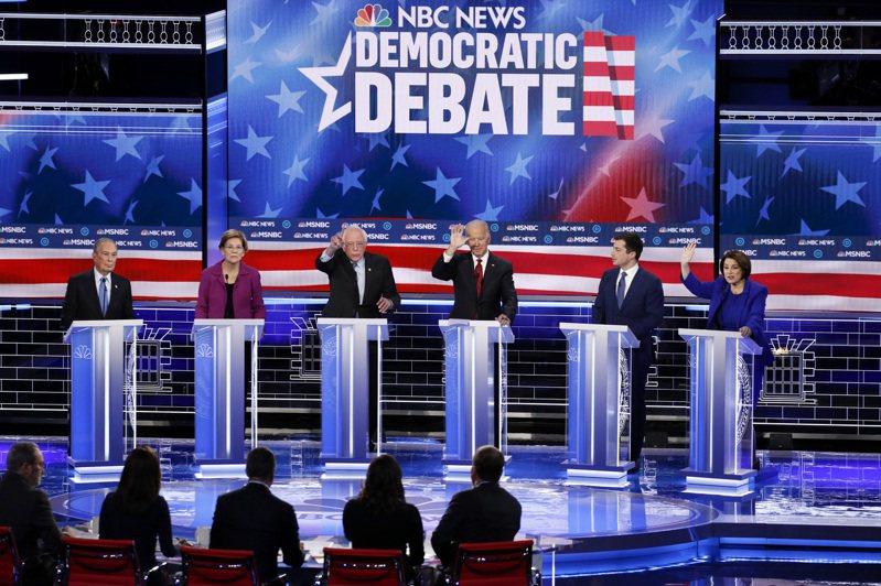 民主黨總統參選人25日將在南卡羅來納州舉行辯論。圖/美聯社