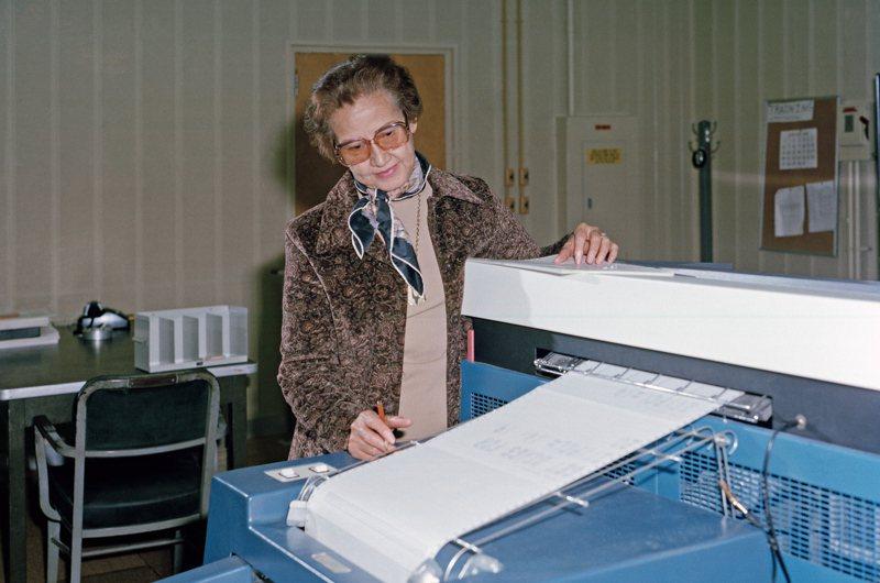 美國非裔女數學家凱薩琳.強生辭世,享嵩壽101歲。圖/歐新社