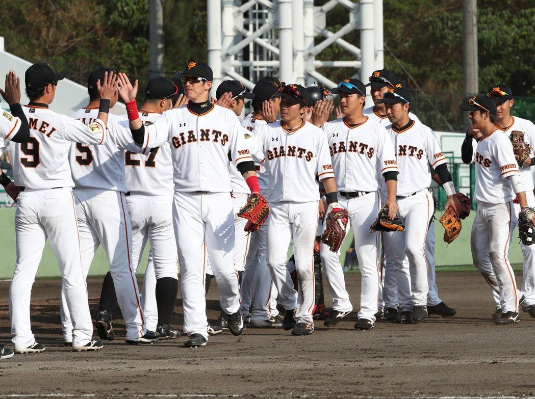 2月23日,巨人於沖繩那霸球場以7:1擊敗樂天。 圖/取自東京讀賣巨人隊官方臉書
