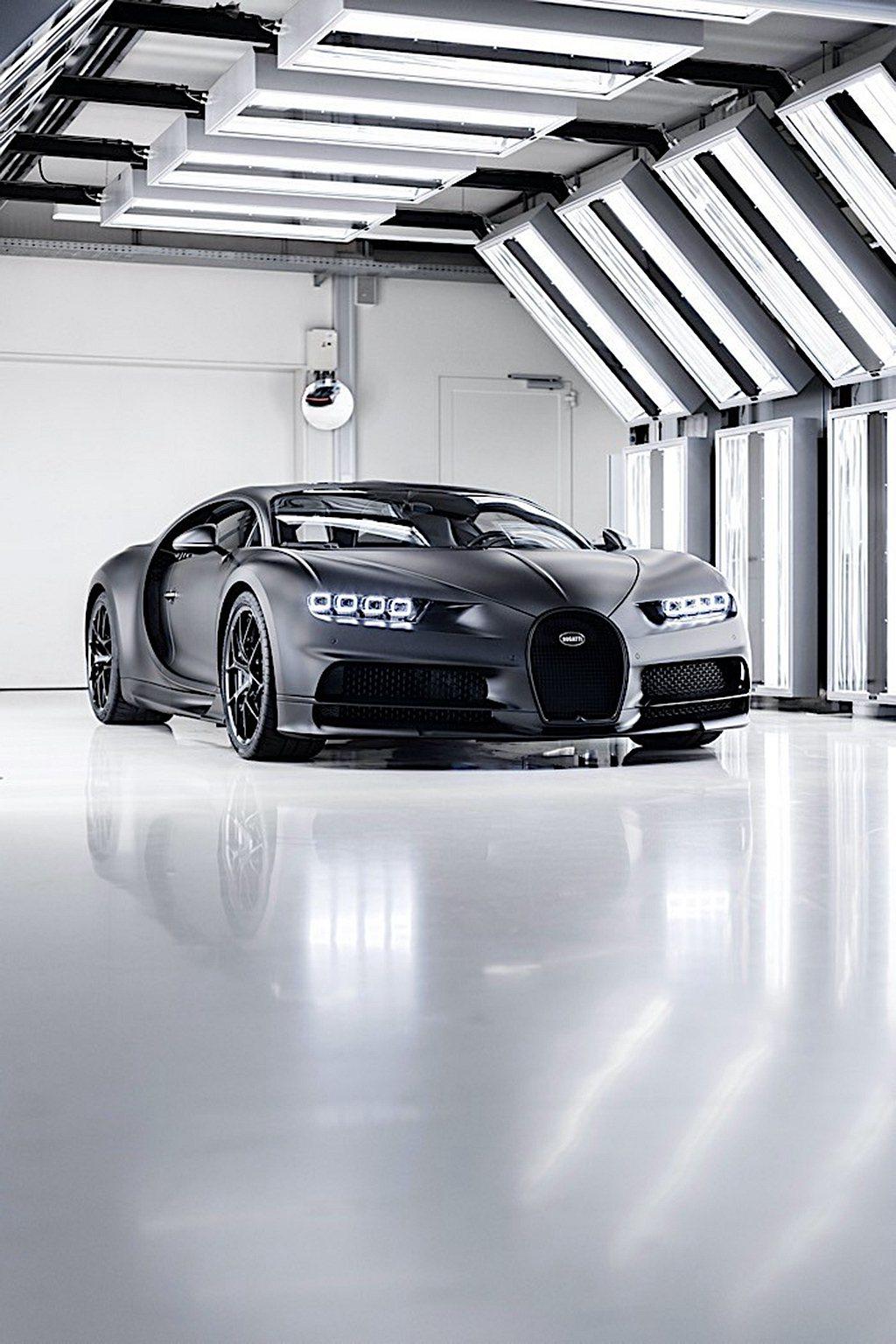 日前Bugatti迎來第250輛Chiron下線儀式,此車則為去年底推出的Chi...