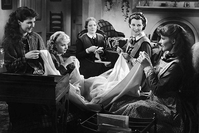 1933年版《小婦人》劇照。 圖/IMDb