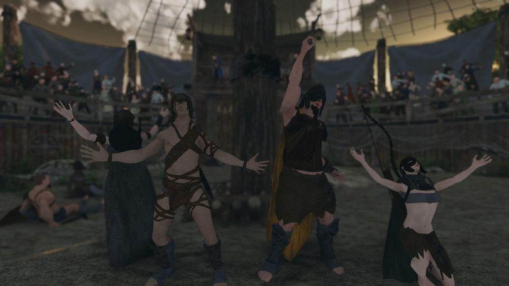 培訓出強大的角鬥士隊伍,替自己的競技場爭取名聲。