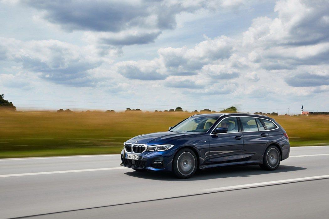 BMW 3系列Touring。 圖/BMW提供