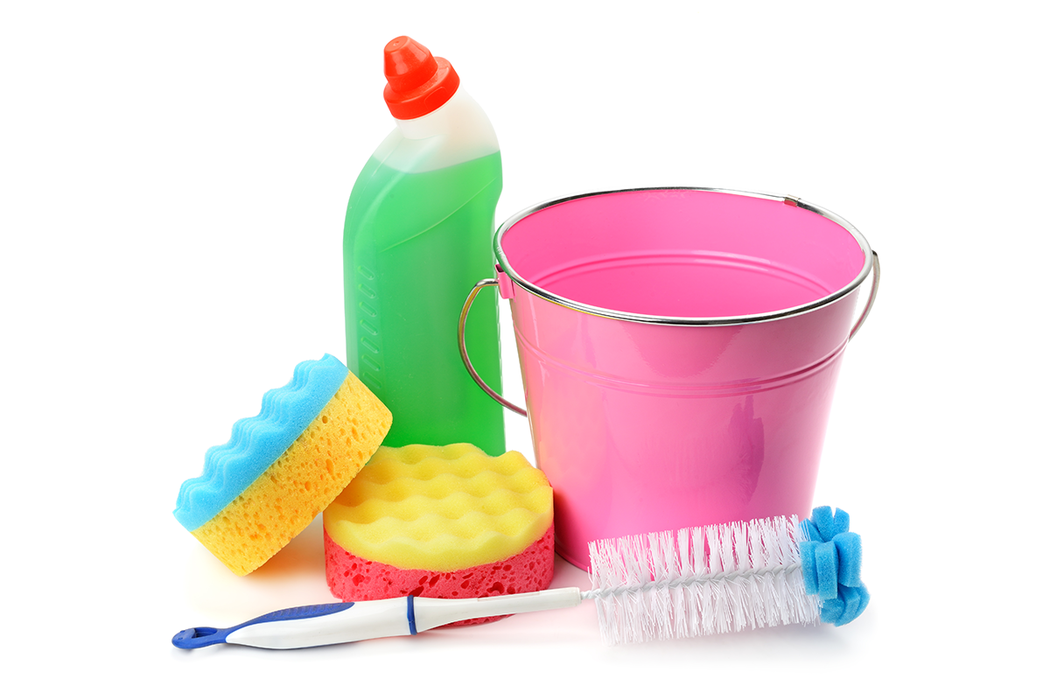 漂白水不只能清潔衣物,還能消毒除霉! 圖/ingimage