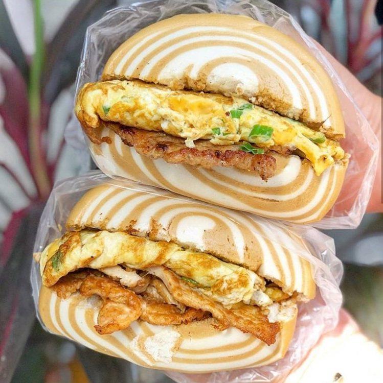 「家蓁早餐店」是東區大份量銅板價早餐。圖/FB/Blog: 舞食旅台灣。amo...
