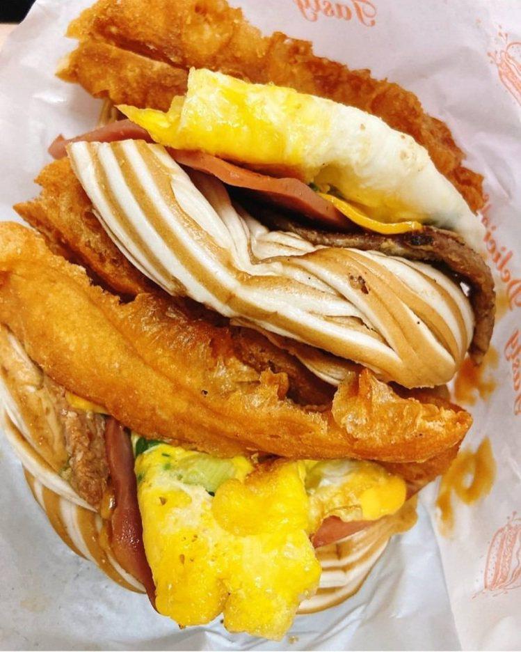 很多吃貨被太和豆漿「無敵海景饅頭蛋」IG打卡燒到。IG @zara_kao提供