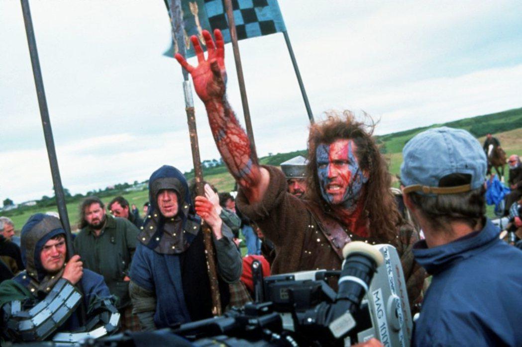 蘇格蘭「脫英入歐」,可能嗎?圖為《梅爾吉勃遜之英雄本色》電影拍攝現場。 圖/美聯...