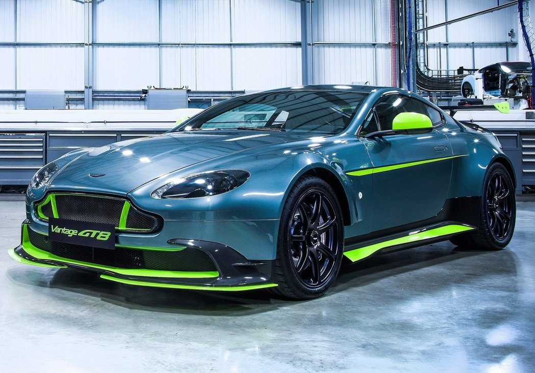 2017年Aston Martin Vantage GT8。 圖/Aston M...