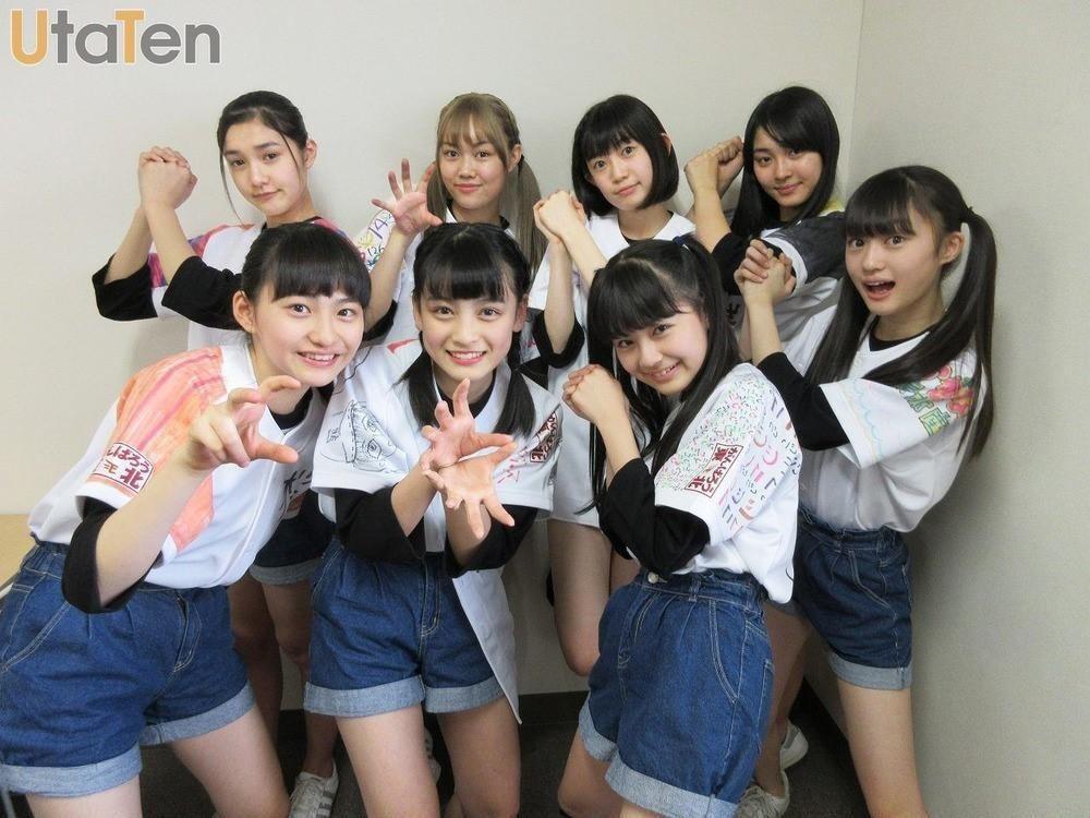 日本9人偶像女團「東北産」成員皆來自東北地區。(翻攝自https://utate