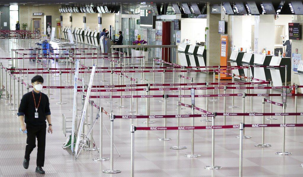南韓大邱機場。 圖/美聯社