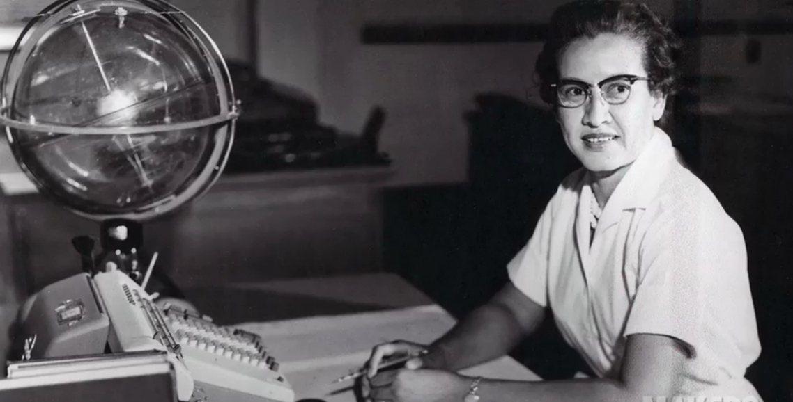 前NASA天文數學家、同時也是電影《關鍵少數》原型的凱薩琳.強森(Katheri...