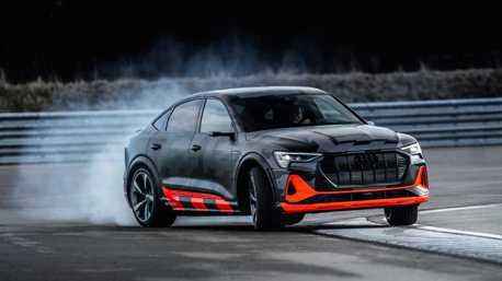 四環品牌高性能純電休旅 全新Audi e-tron S、e-tron Sportback S登場!