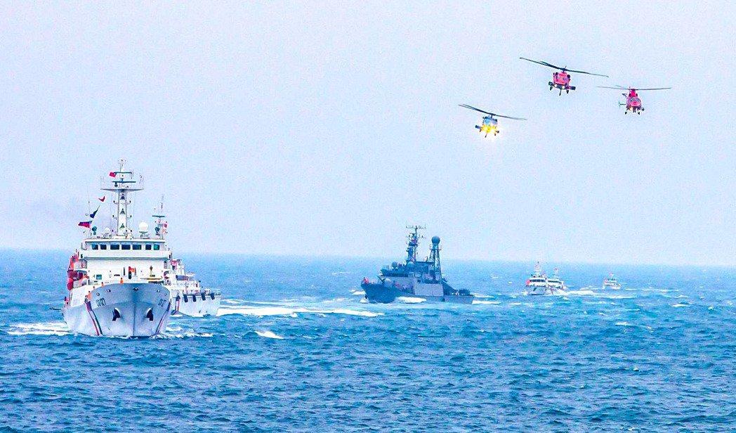 2019年金華暨海安十號演習。 圖/取自海巡署長室 Coast Guard