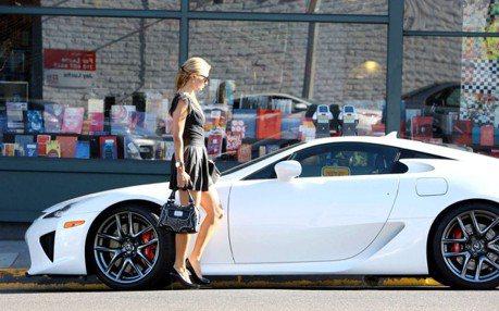 芭莉絲希爾頓開過的LFA要出售 要價1500萬台幣