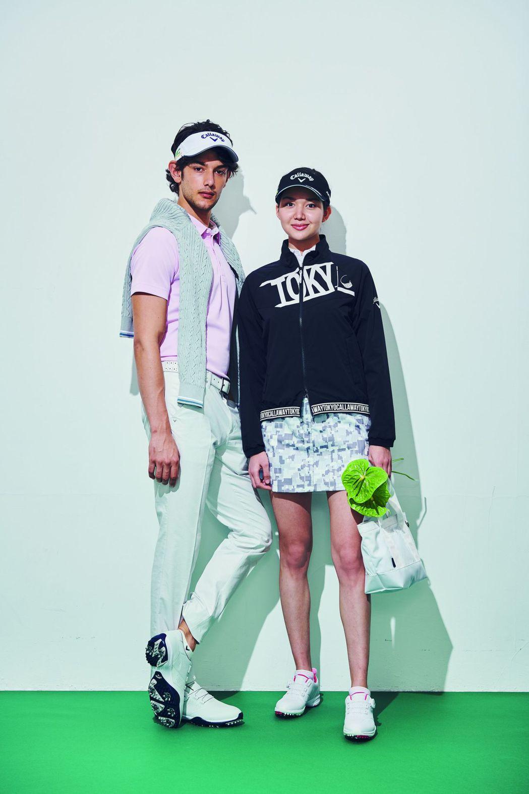 亞洲知名高爾夫服裝品牌Callaway Apparel訂3月1日重磅登台。 倫華...
