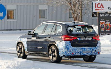 量產版BMW iX3終於露面 擁有超特別秘密武器!