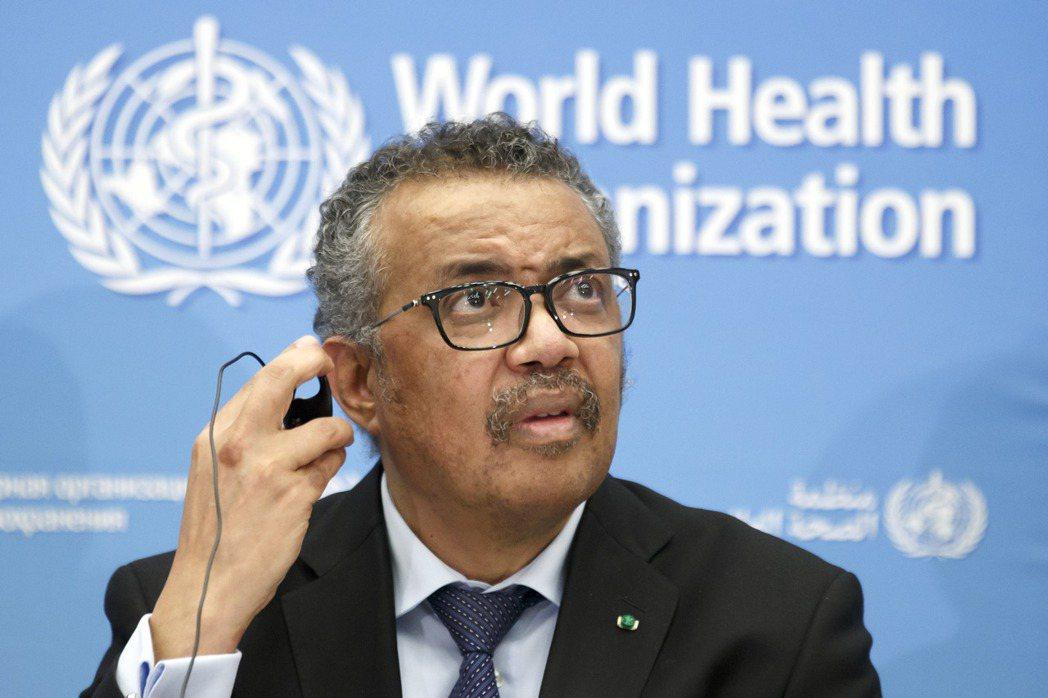 WHO秘書長譚德塞認為疫情還未達全球大流行。美聯社