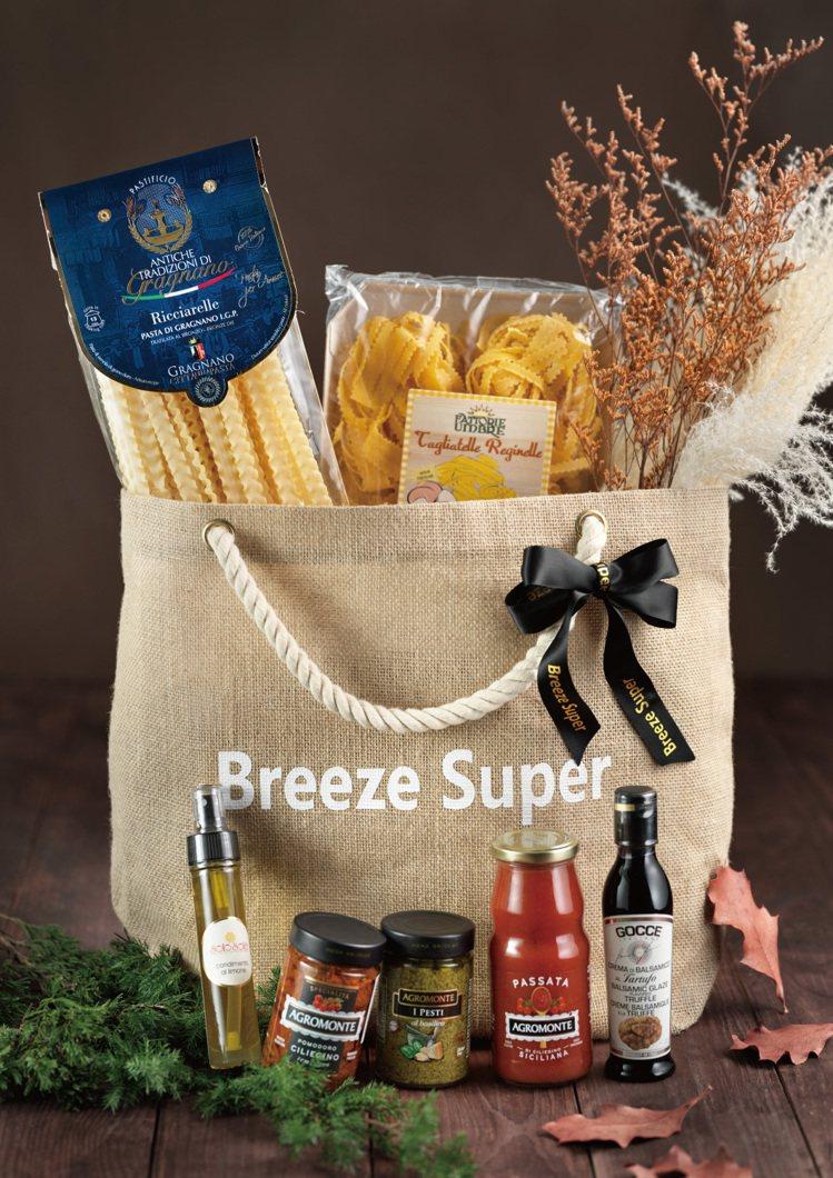 微風超市推出消費滿2,000元提供免費宅配服務。圖/微風提供