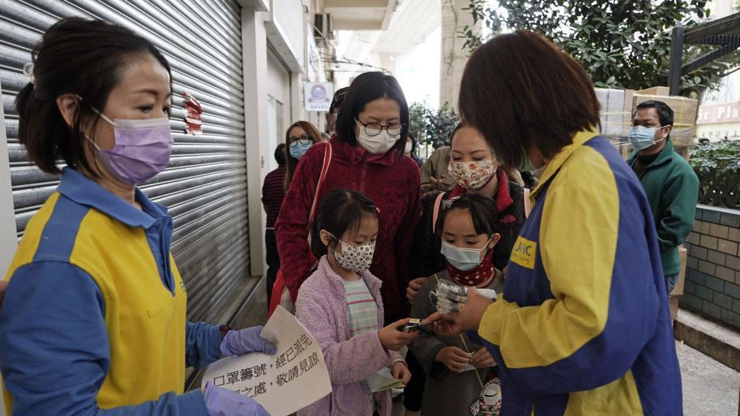 香港大專以外學校據報導將停課到復活節假期結束。美聯社