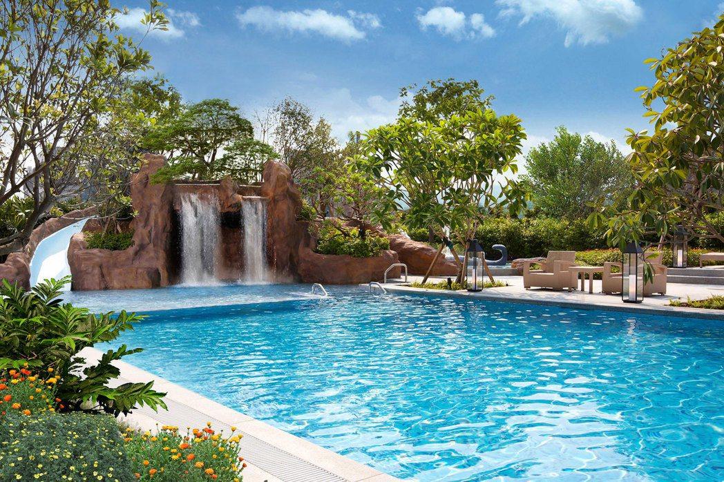 礁溪寒沐酒店228連假的訂房有9成,可望跟去年連假一樣達到滿房。圖/寒沐酒店提供
