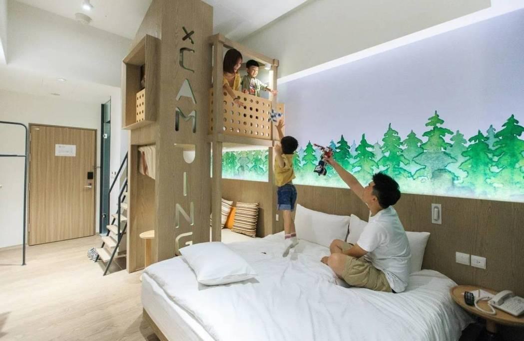 礁溪兆品大酒店及品文旅的二二八訂房狀況約有8成左右,詢問度高。圖/品文旅提供