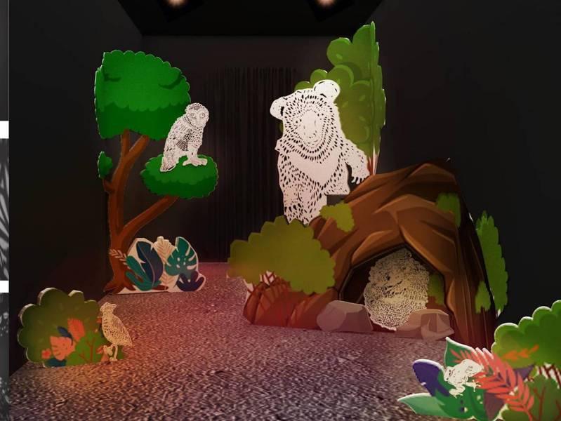 宜蘭綠色博覽會的「永續主題館」,期盼在休閒中理解然生態的永續樂園。 圖/縣府提供