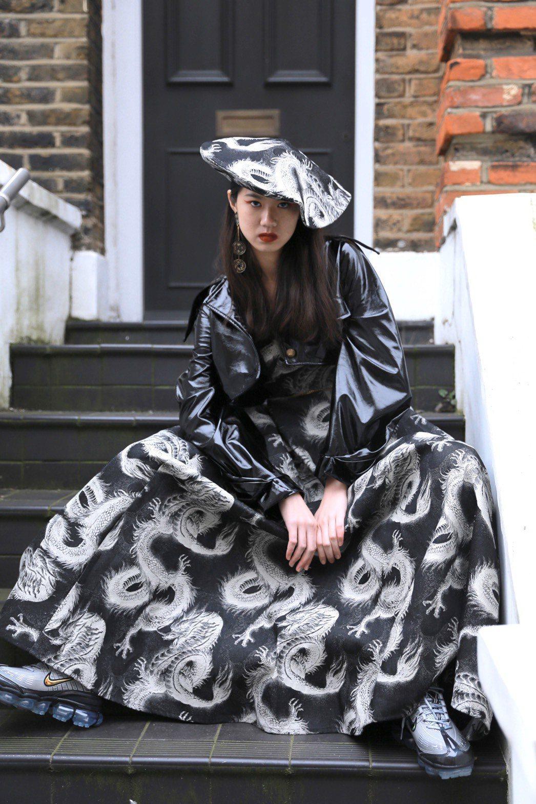 王郁婷趁著這次到倫敦,也到附近景點觀光。圖/JENN LEE Studio提供