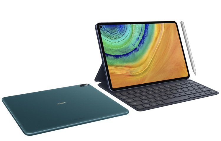 HUAWEI MatePad Pro 5G可搭配專屬鍵盤與可吸附的M-Penci...