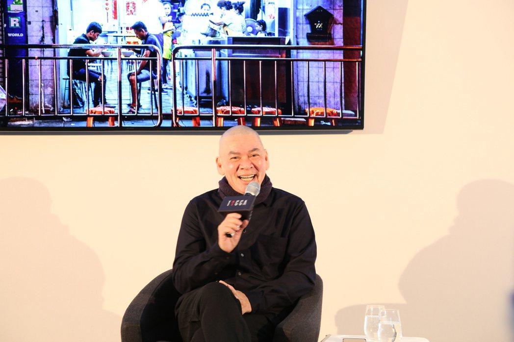 蔡明亮在柏林影展辦講座。圖/文策院提供