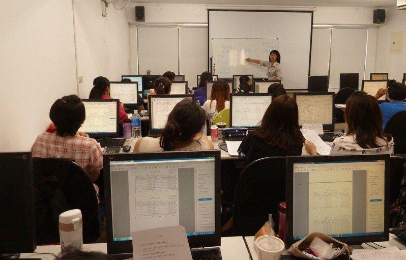 台南市勞工局鼓勵下,台南首家業者辦理「充電再出發」,保障無薪假勞工權益。圖/勞工局提供