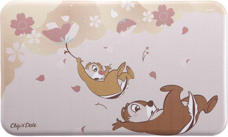HOLA迪士尼系列櫻花季釋壓廚房踏墊-奇奇蒂蒂款,原價799元、特價599元,需...