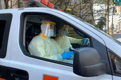 防堵救護人員也鬧口罩荒 消防署統一申請配發外科口罩