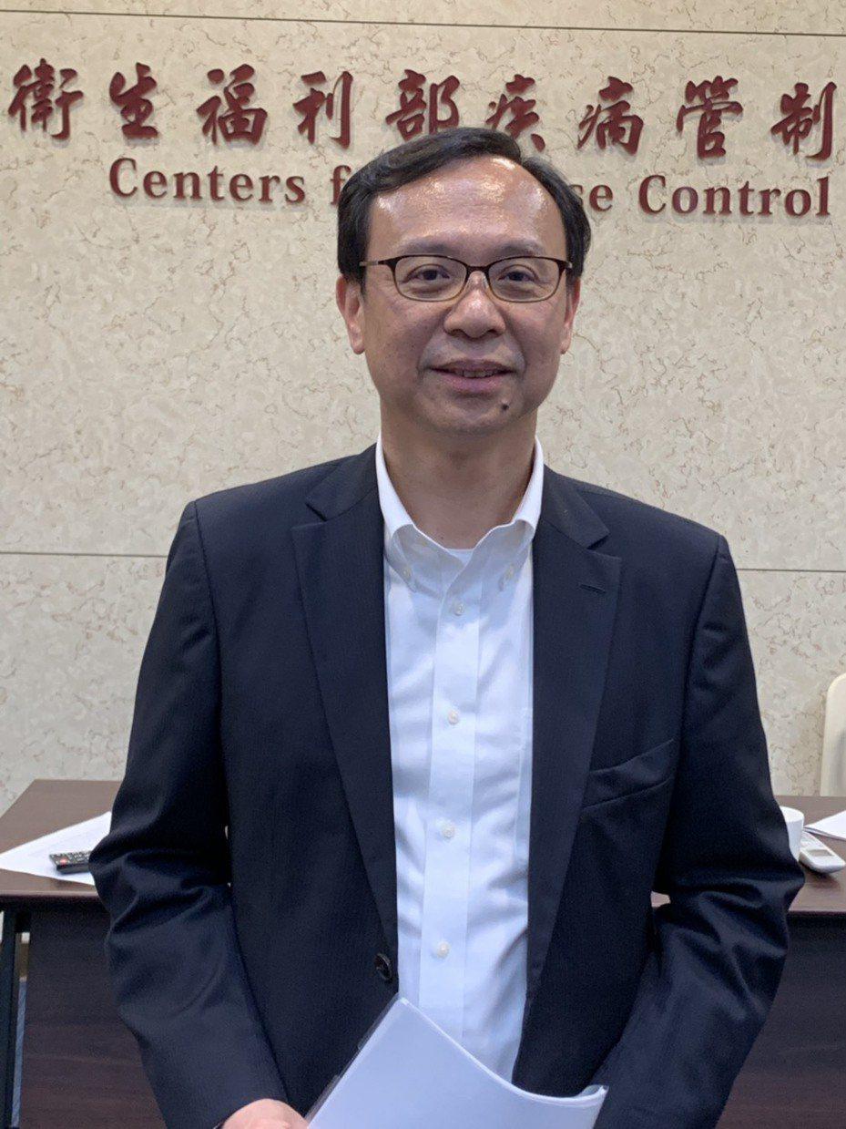 衛福部醫事司長石崇良。記者陳雨鑫/攝影