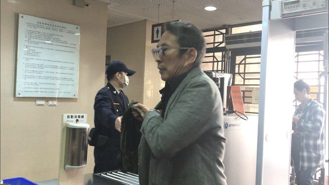 鈕承澤先前為性侵案出庭。本報系資料照/記者王聖藜攝影