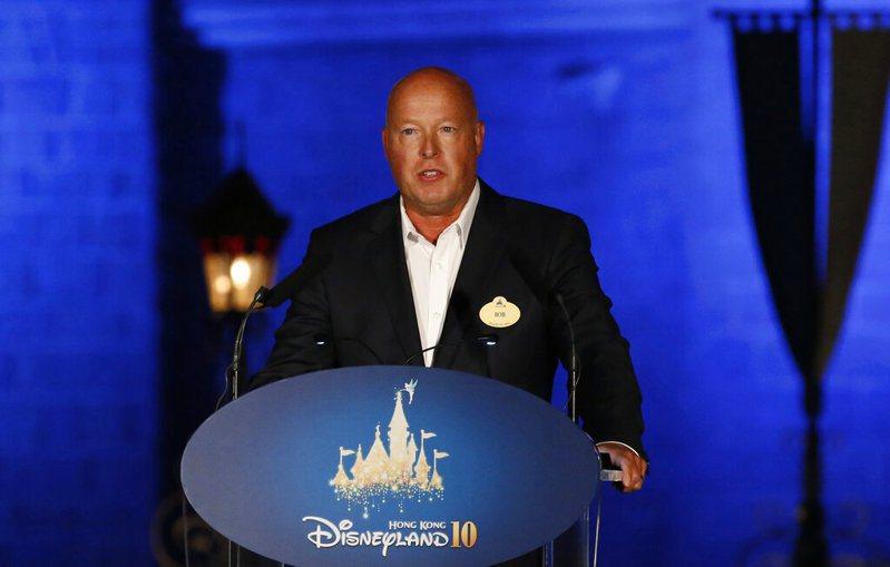 鮑勃·查佩克接任迪士尼CEO。 美聯社
