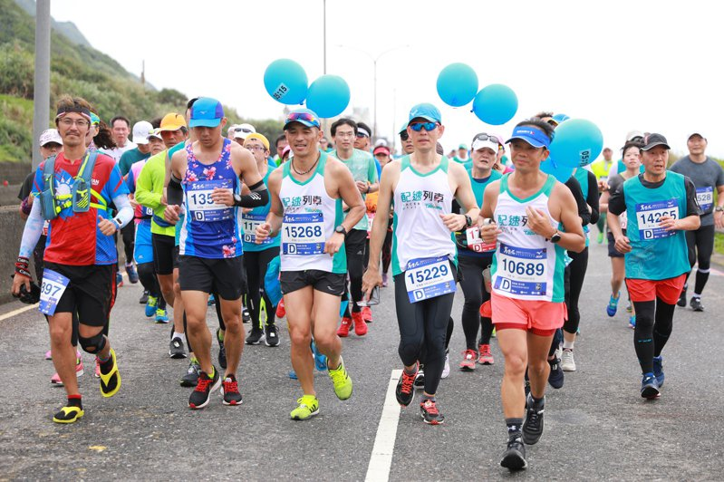 3月15日萬金石馬拉松照常舉行。 報系資料照