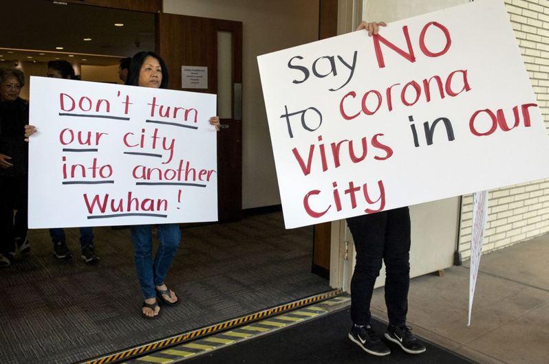美國加州政府拒絕設立隔離所。圖片來源/AP